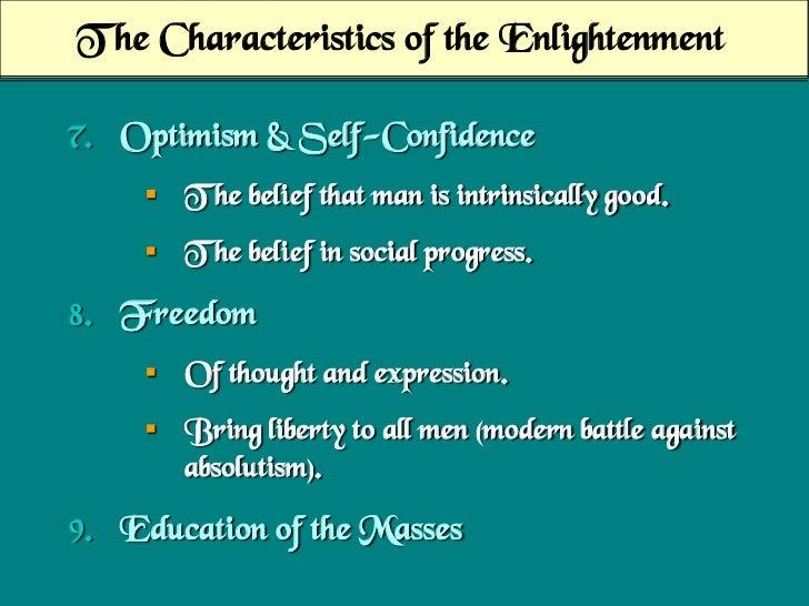 enlightenment optimism