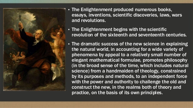 the different contributions to society of enlightenment era of revolutions Today (october 5) is 300 years since the birth of denis diderot, a prominent enlightenment philosopher, art critic, and writer, who died on july 31, 1784, aged 70.