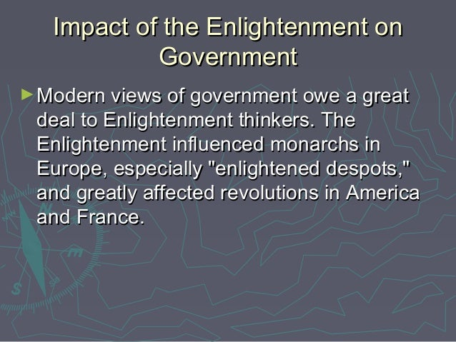 how did enlightenment influence the american revolution