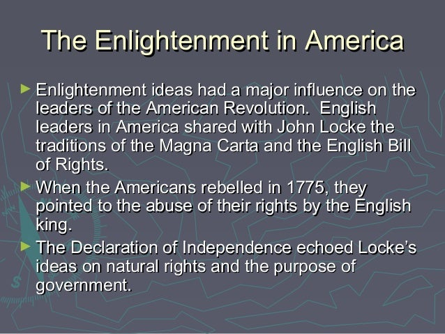 The ideas of french thinkers of the enlightenment period started the french revolution