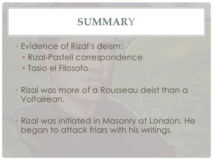 rizal s pastell correspondence analysis Pearson's correlation coefficients were calculated in order to specify the interactions between components of food web detrended correspondence analysis (dca), was.