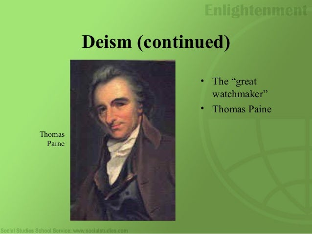 thomas paine enlightenment essays This movement called the age of enlightenment influenced the styles and writings of those like benjamin franklin and thomas paine the age of enlightenment was a period of questioning and appliance of reasoning to explore many subjects, such as civil rights, often left untouched.