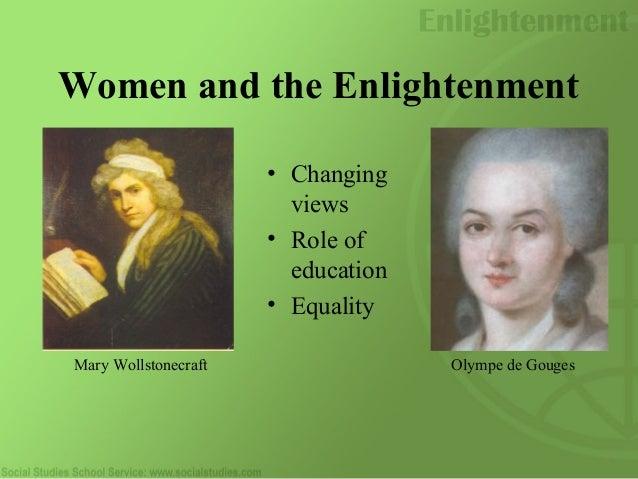 women through all the enlightenment