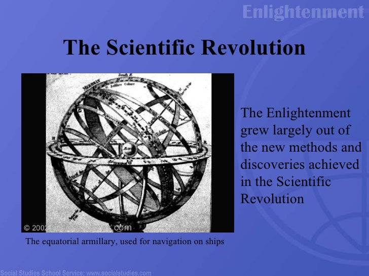 scientific revolution and enlightenment essay General journal homework help scientific revolution essay help with math the scientific revolution and the enlightenment were two very important aspect of.