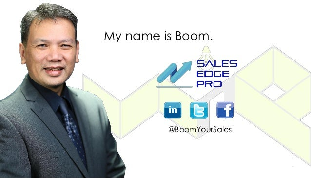 My name is Boom. @BoomYourSales