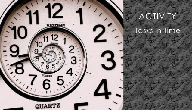 ACTIVITY Tasks in Time