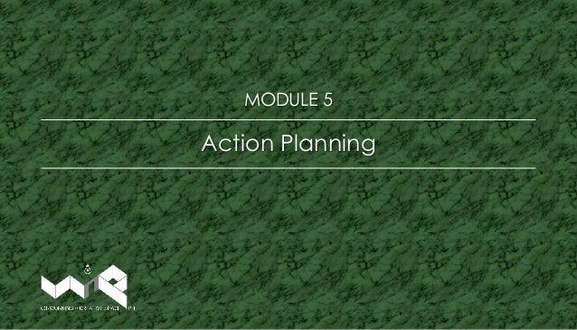 Action Planning MODULE 5