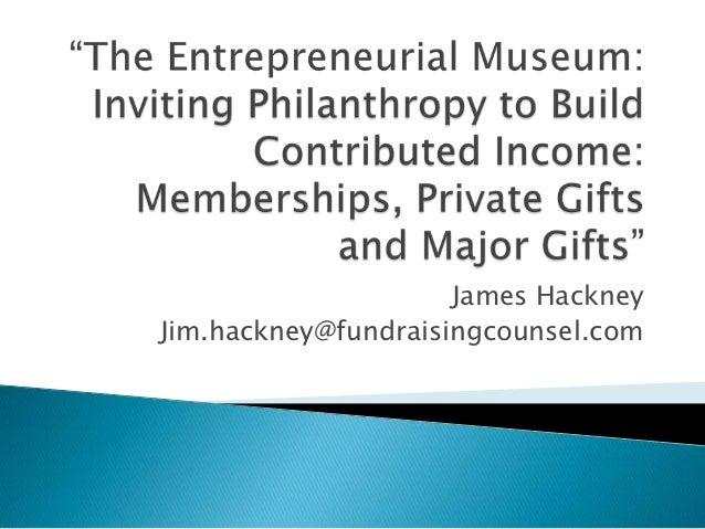 James HackneyJim.hackney@fundraisingcounsel.com