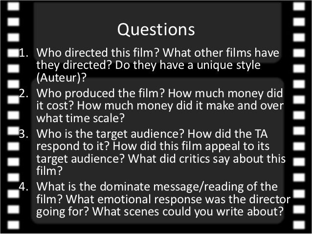 elements of the essay film The film is housed on a 50gb blu-ray disc and is accompanied by an 18-page booklet that includes an essay from film  fish tank also combines elements of.