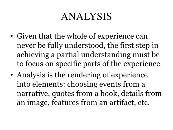 experience and other evidence essays Remind students that in their essay, they will cite where their evidence strongest evidence of ha's experiences to and any other evidence they.