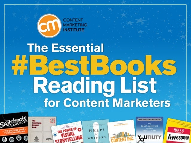 The Essential for Content Marketers #BestBooks Reading List
