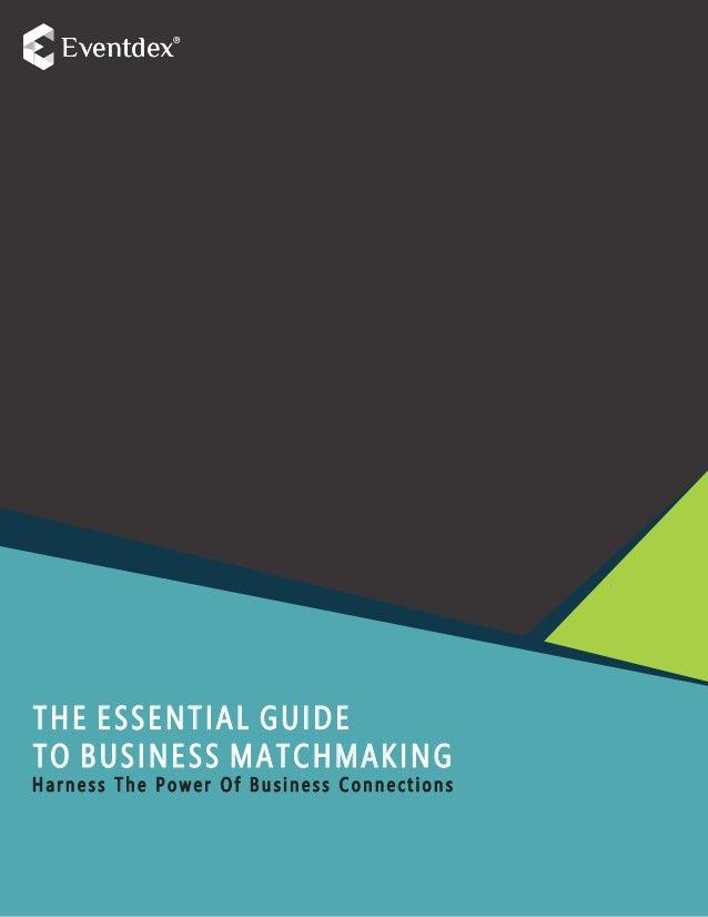 business matchmaking Deutsch serata orientale notizie datazione