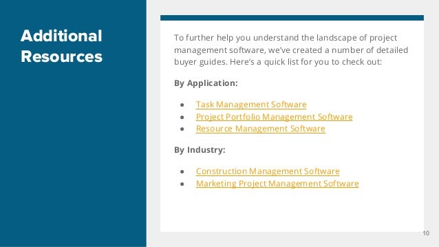 features of project management software pdf