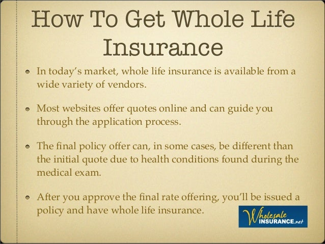 Whole Life Quotes Online Endearing The Essentials Of Life Insurance What You Need To Know Before Your P…