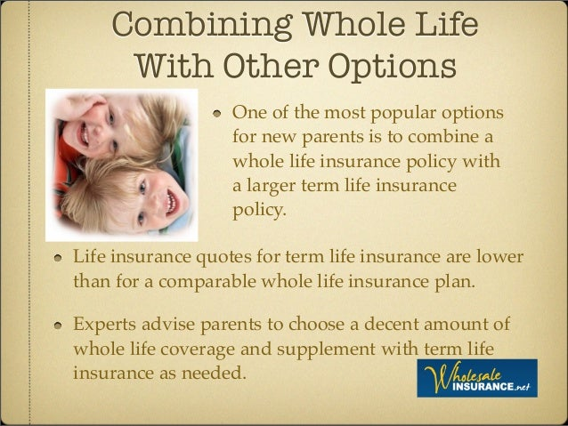 6. Combining Whole Life With Other Options Life Insurance Quotes ...