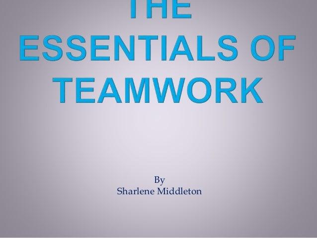 the essentials of teamwork powerpoint