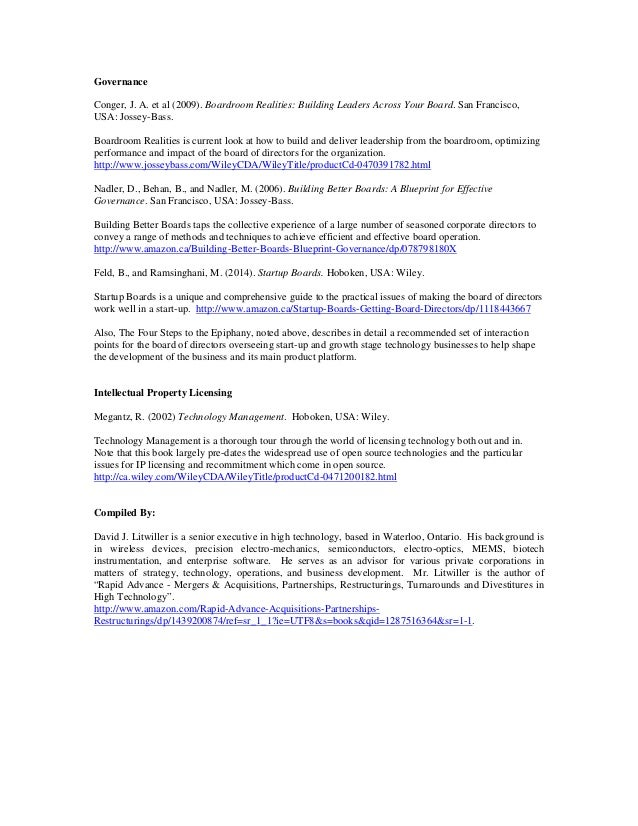 The essential technology start up book list updated apr 2014 dave 6 malvernweather Gallery