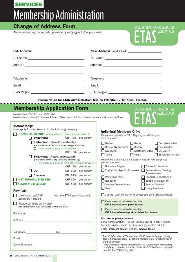 The etas journal the magazine for english professionals