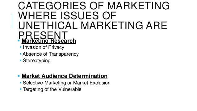 unethical market research
