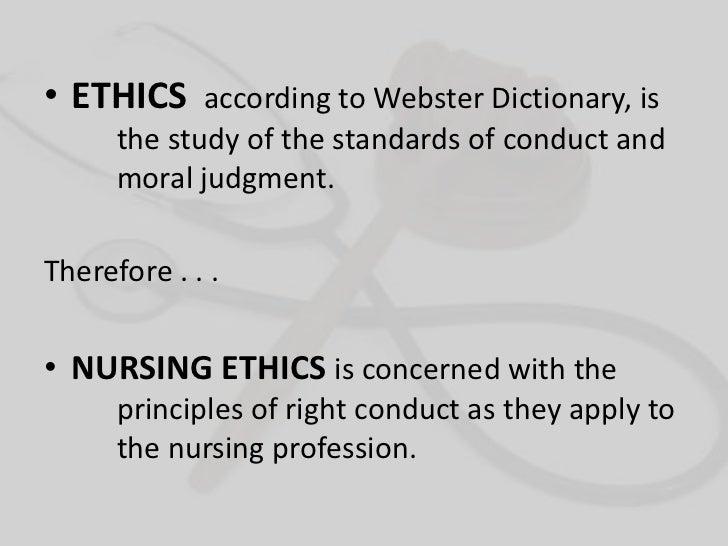 The ethico