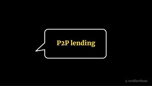 @ P2P lending