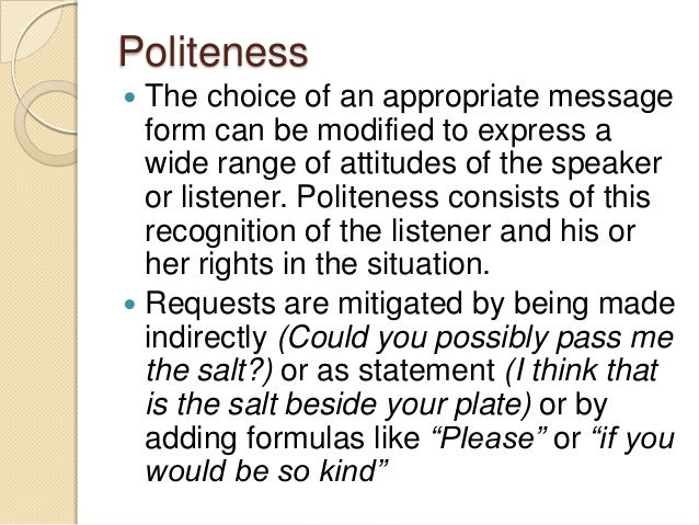 politeness formulas in arabic A contrastive approach to the analysis  a contrastive approach to the analysis of politeness formulas,  and examples taken from english and moroccan arabic.
