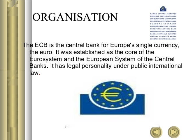 role of central bank europe In the developing countries, the central bank has to play a much wider role besides performing the traditional functions, the central bank has to undertake.