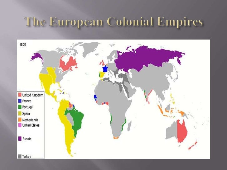 The European Colonial Empires<br />