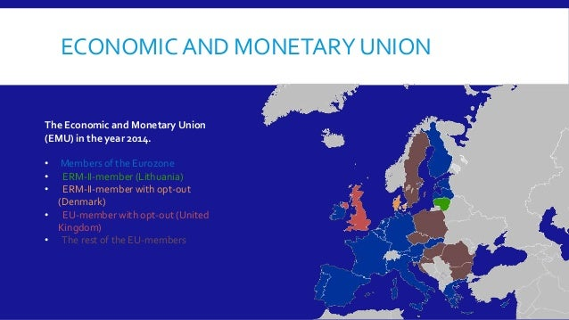 the three phases of monetary integration in the european union There is any logical or superior sequencing to the next stages of economic  integration in the eu following a review and analysis in section 2, section 3  applies.