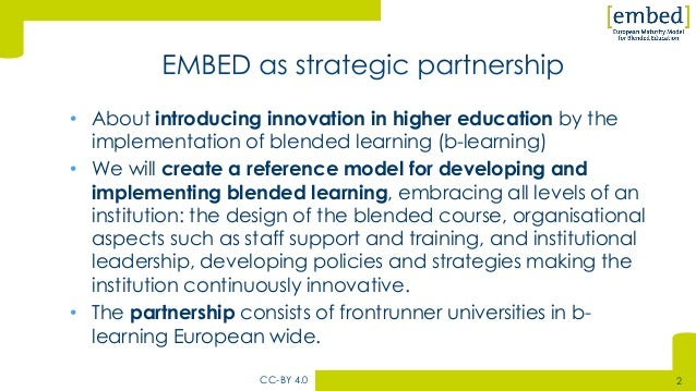 The european maturity model for blended learning by wiebe dijkstra Slide 2