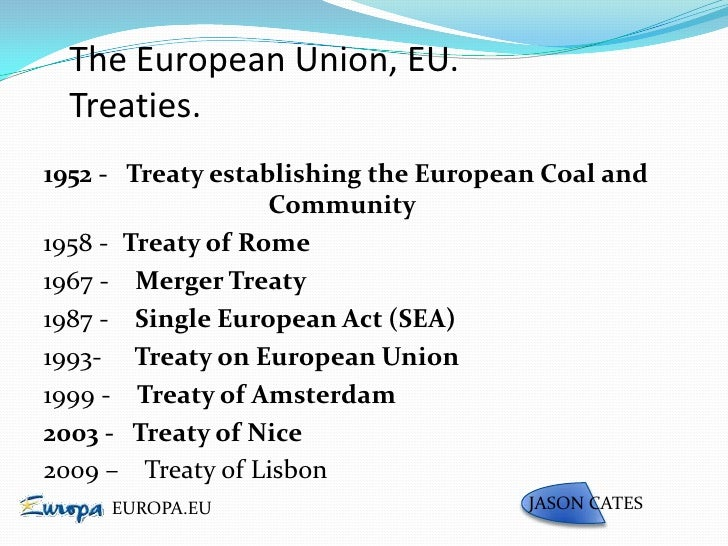 Outline of the European Union