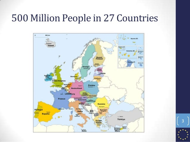 500 Million People in 27 Countries 3