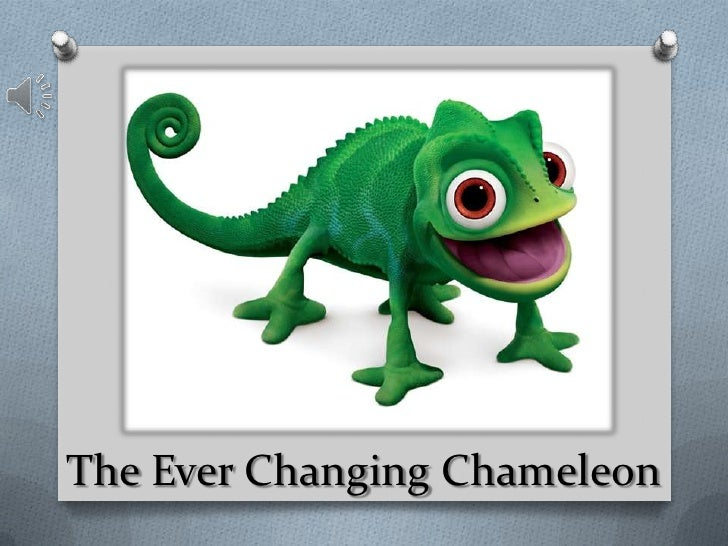 The Ever Changing Chameleon