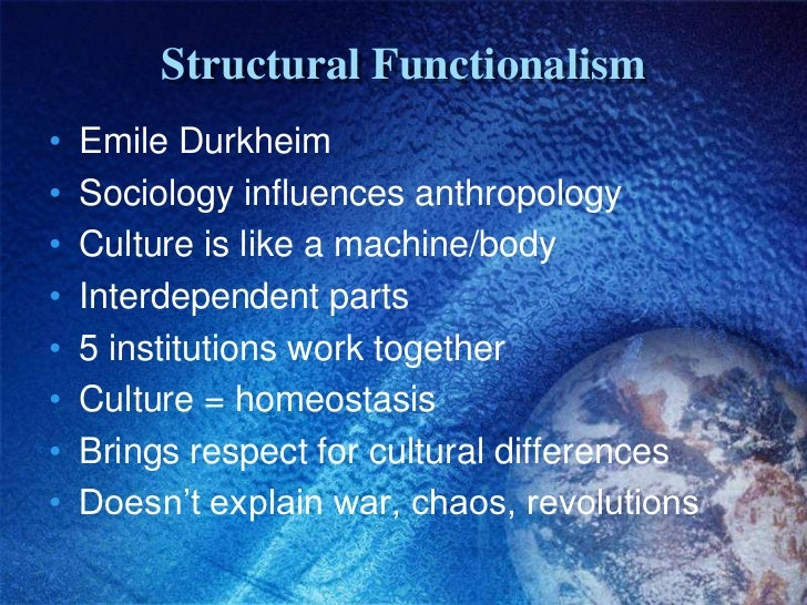 a comparison of anthropological and sociological ideas of franz boas and emile durkheim More than a hundred years have passed since emile durkheim introduced comparison as a the history of social anthropology from durkheim to by franz boas.