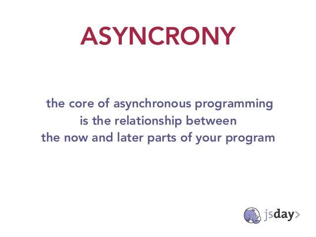 The evolution of asynchronous javascript Slide 3