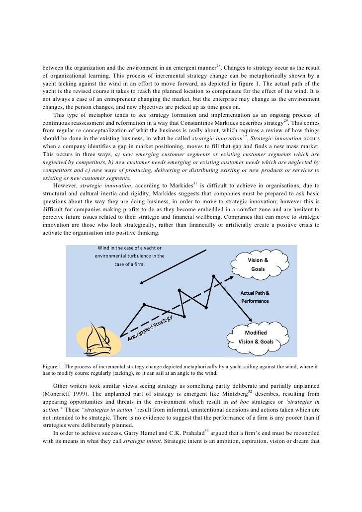 the effect of formal strategic planning Ment on organizational performance: the mediating role of high-performance  performance effects  agers in a strategic planning role is.