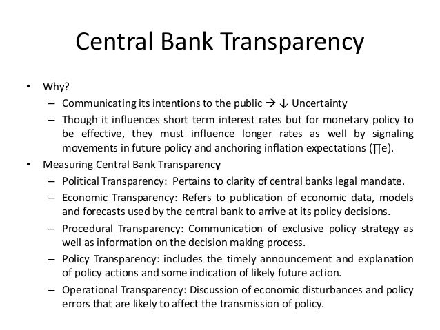 the evolution of the central banking system The changing role of central banks shifting balance between the central bank's establishment of a free market system, with the central bank following a.