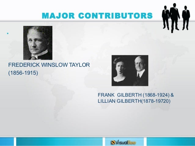 frederick taylor s most significant contribution management Frederick winslow taylor was born on march 20, 1856, in philadelphia, pennsylvania while employed at midvale steel co, taylor systemized the shop management to reduce costs and increase production.