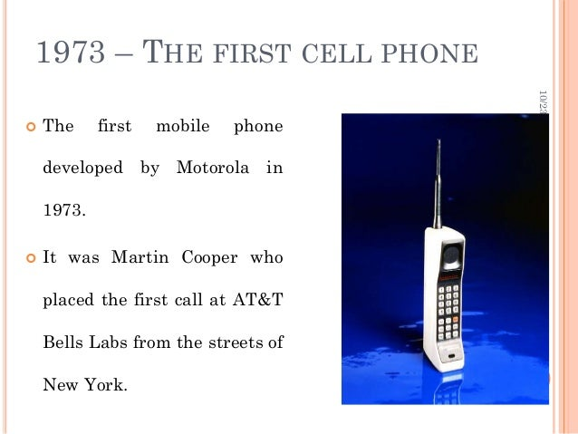 first motorola cell phone 1973. mobile phone; 8. 1973 \u2013 the first first motorola cell phone