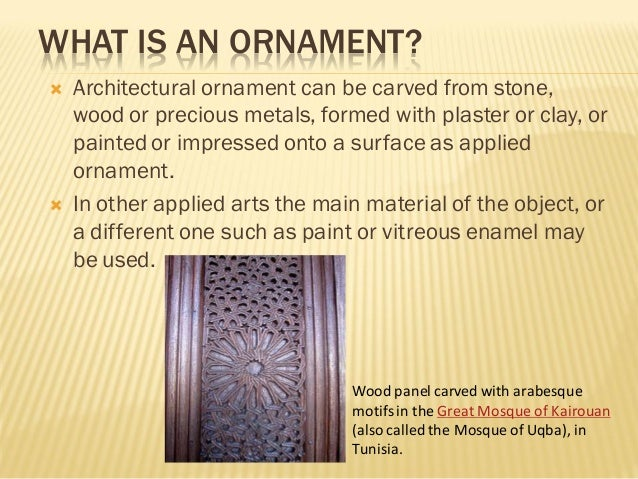 ornament and crime summary
