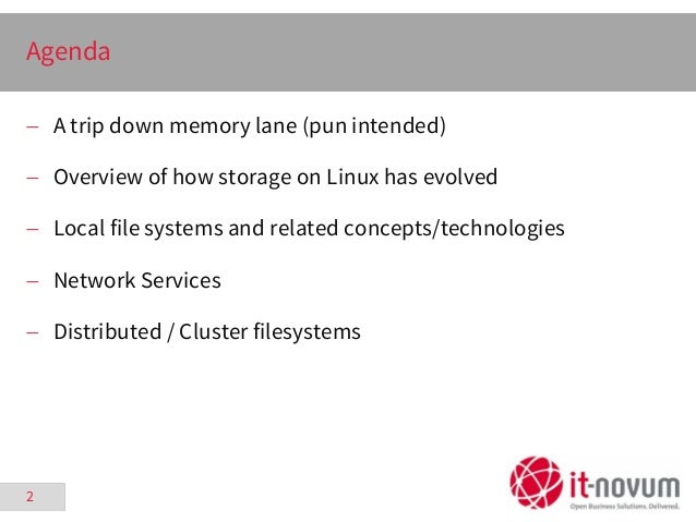 The Evolution of Storage on Linux - FrOSCon - 2015-08-22 Slide 2