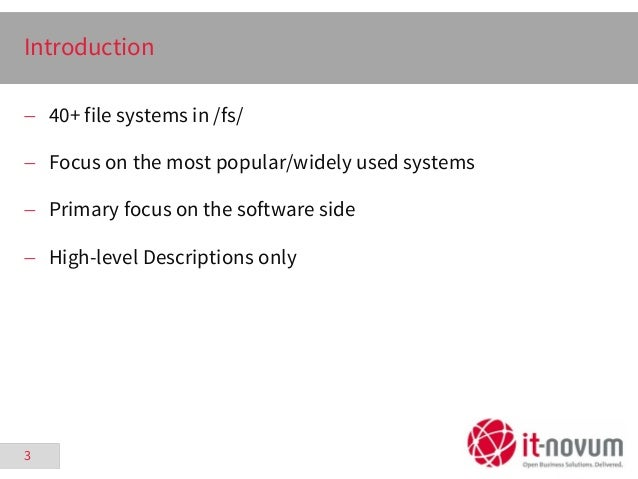 The Evolution of Storage on Linux - FrOSCon - 2015-08-22 Slide 3