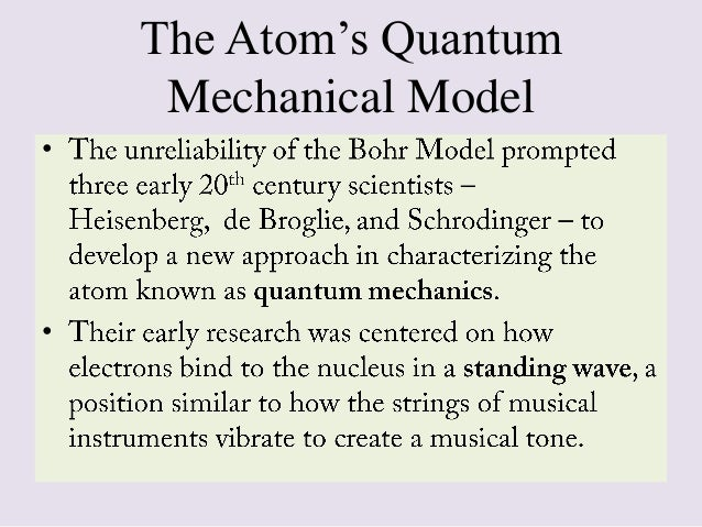 an introduction to the evolution of the modern model of the atom For a history of the study of how atoms combine to form molecules, see history of  molecular theory the current theoretical model of the atom involves a dense  nucleus surrounded by a probabilistic cloud of electrons in chemistry and  physics, atomic theory is a scientific theory of the nature of matter, which states   the modern model of the atom describes the positions of electrons in an.