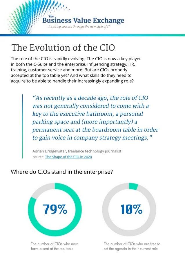 The Evolution of the CIO