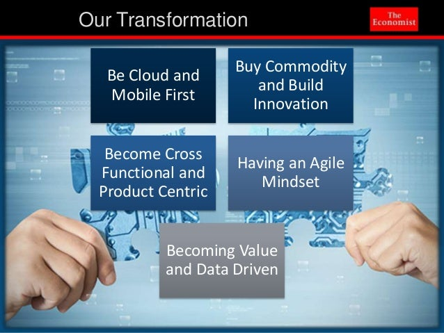 The Evolution Of The Economist Content Platform Presented