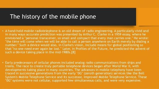 cell phone evolution essay