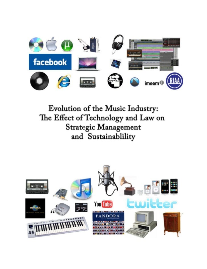 the effects of technology on the music industry Social media and mobile's impact on music have been largely positive, but there has also been a dark side with social media platforms like facebook becoming increasingly vital to musicians, it also increases facebook's power within the industry.