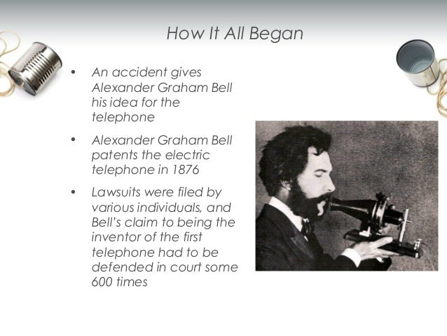 the evolution of the telephone As i am sure we all have heard, alexander graham bell beat elisha gray to obtain the patent for the telephone in the 1876 bell continues to be widely known for inventing the telephone, but really just being the one to patent to design first.