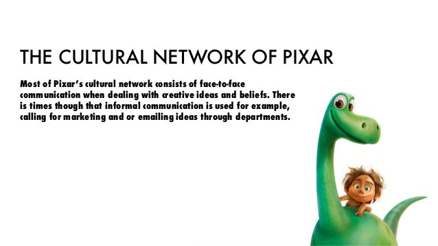 pixar culture and organisations This report represents the culture and organisation analysis towards working environment practice in pixar animation studio the successful of.
