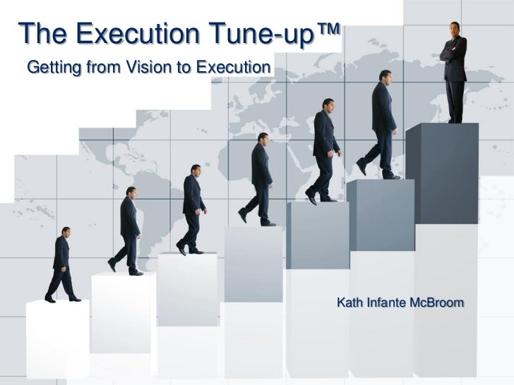 The Execution Tune-up™Getting from Vision to Execution                                   Kath Infante McBroom